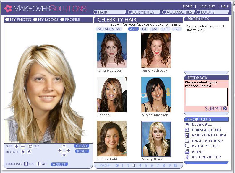 Ashley Hairstyle - QwickStep Answers Search Engine